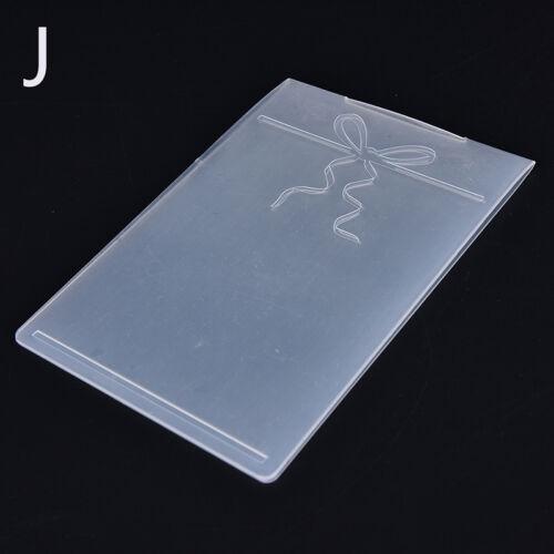 Embossing Folder  Scrapbooking Album Card Cutting Dies Template Craft
