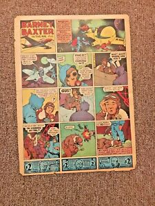 1947-FRANK-MILLER-BARNEY-BAXTER-newspaper-comic-1-Page-Good-condition-13-039-X-039-10