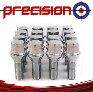 16-Chrome-Wheel-Nut-Bolts-for-BMW-Mini-Cooper-S-2001-to-2006