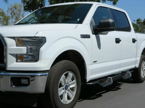 """7.5/"""" Nerf Bars for 15-19 Ford F-150 F-250 F-350 Crew// SuperCrew Cab Side Steps"""