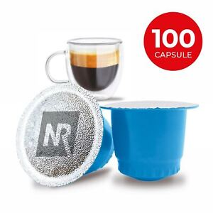 100 Capsule Cialde Caffe Compatibili NESPRESSO miscela DECAFFEINATO