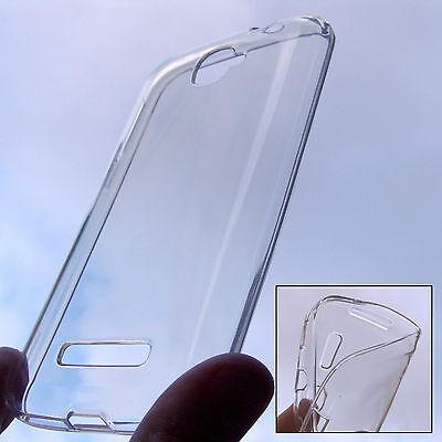 custodia in silicone invisibile per ALCATEL one touch POP C7 trasparente