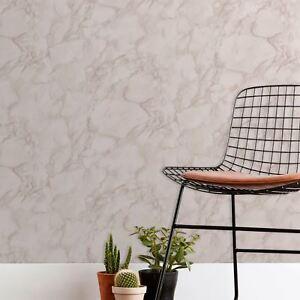 Fine-decor-Marblesque-Marbre-Papier-Peint-Rose-Rose-Fard-FD42275-Neuf
