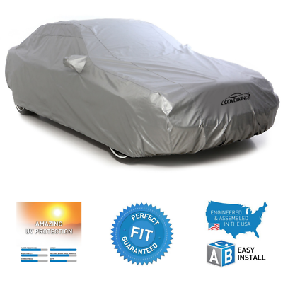 Gray Coverking Custom Fit Car Cover for Select Porsche Macan Models Mosom Plus