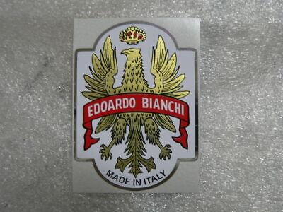 BIANCHI Decal Sticker Head Badge Steuerkopfschild NEW NEU