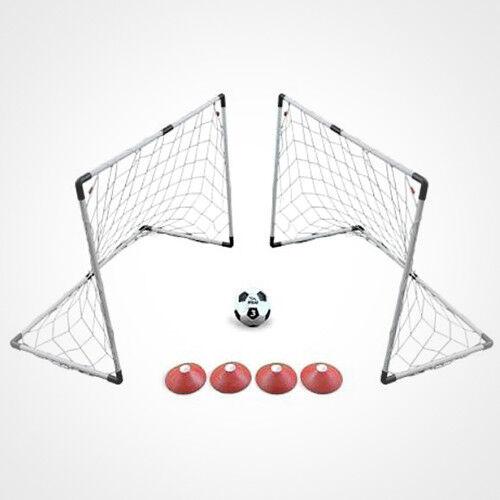 Voit 2 Goal Soccor Game Set New 4' x 3' Goal