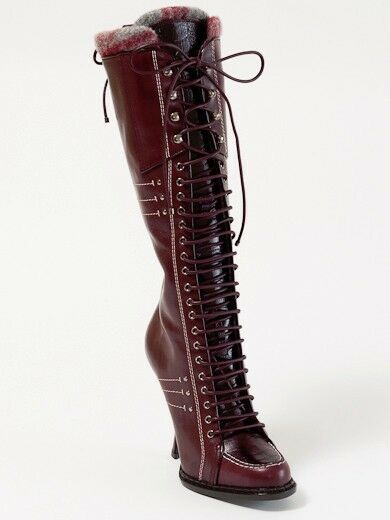 New New New Dior Montagne Burgundy Hand Made Leather Stiefel 39 US 9 9ec9c2