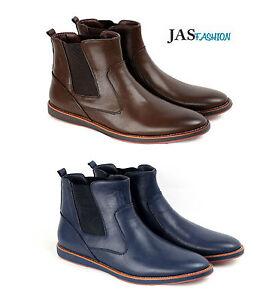 Hombre Elegante de sin Botines Chelsea Zapatos Jas Informal Cordones P8PrU