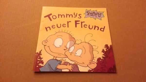 RUGRATS - Tommys neuer Freund (Luke David; Carlsen; 1.Auflage; Dorit Kinkel)
