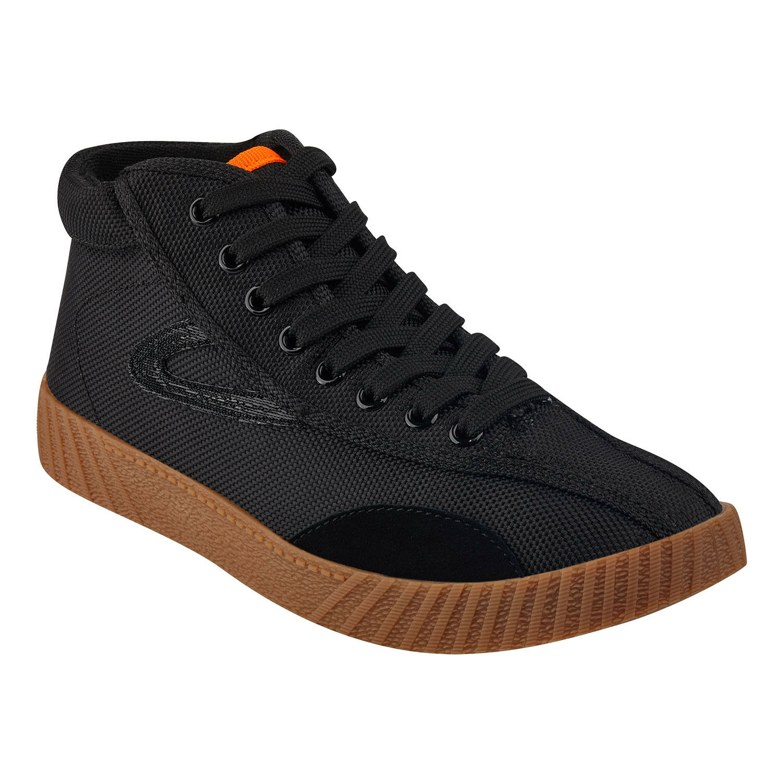 NEW NYLITEHIXAB3 (WOMEN) Tretorn Tretorn Tretorn Black Hi Top Sneakers shoes Logo Size 8.5, 40 3d2720