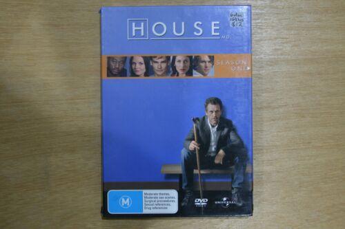 1 of 1 - House : Season 1 (DVD, 2006, 6-Disc Set)  VGC Pre-owned (D46)