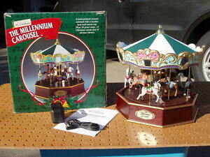 image is loading mr christmas the millennium carousel 30 christmas songs