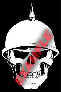 PICK-COLOR-SIZE-Skull-Helmet-Creepy-Grim-Reaper-Sticker-Window-Glass-Vinyl-Decal