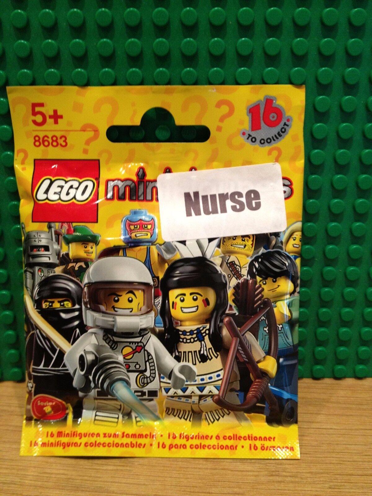 LEGO 8683 SERIES 1 .NURSE BRAND NEW SEALED SEALED SEALED c7e411