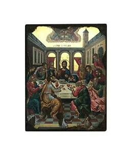 The-Last-Supper-Jesus-Christ-Hanging-Icon-Style-Religious-Wall-Plaque-Decor