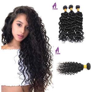 300G-Indian-Water-Wave-Curly-Virgin-Hair-3-Bundles-Human-Hair-Extensions-Weft