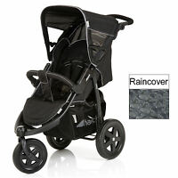 Hauck Caviar / Grey Viper 3 Wheel Pushchair Stroller From Birth Baby Buggy