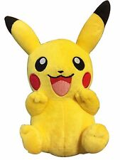 """10"""" Pokemon Pikachu With Arms Up Pocket Monster Plush Toy Stuffed Doll"""