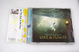THE-CAR-IS-ON-FIRE-LAKE-amp-FLAMES-TTR-309CD-JAPAN-OBI-CD-A10543