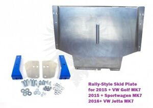 The Ultimate Rally Style Skid Plate for VW GOLF SPORTWAGEN JETTA WAGON MK7 2015+