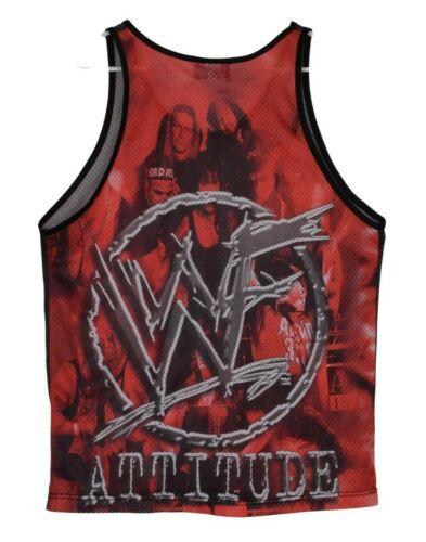 New Year SALE 15/% Off Vintage 1990/'s The Rock Dwayne Johnson WWF Wrestling Tank Top Jersey.