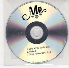 (EJ321) Me, Like A Fox / Naked - 2011 DJ CD