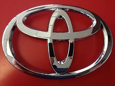 2005-2008 Toyota Rav4 Rear Door Emblem Chrome GENUINE OEM 75430-42010 NEW