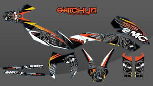 KIT-ADESIVI-GRAFICHE-MONSTER-per-moto-SMC-690-2008-2009-2010-2011-DECALS-DEKOR