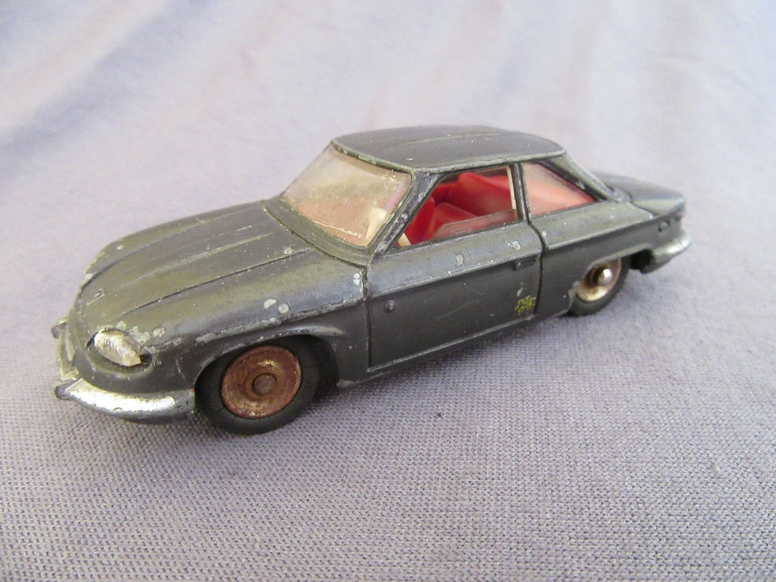 555f vintage dinky 524 panhard 24 anthracite 1 43 meccano