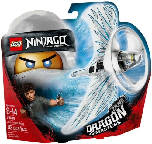 Lego Ninjago 70648 Zane Dragon Masters Spinner ~ nuevo ~