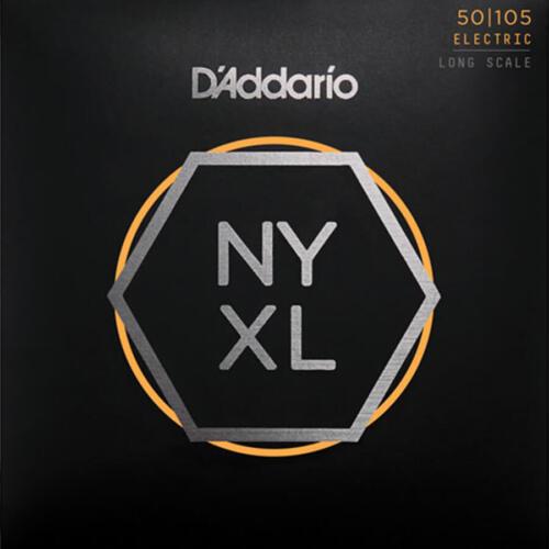 Long Scale D/'Addario NYXL50105 Bass Strings 50-105 Medium
