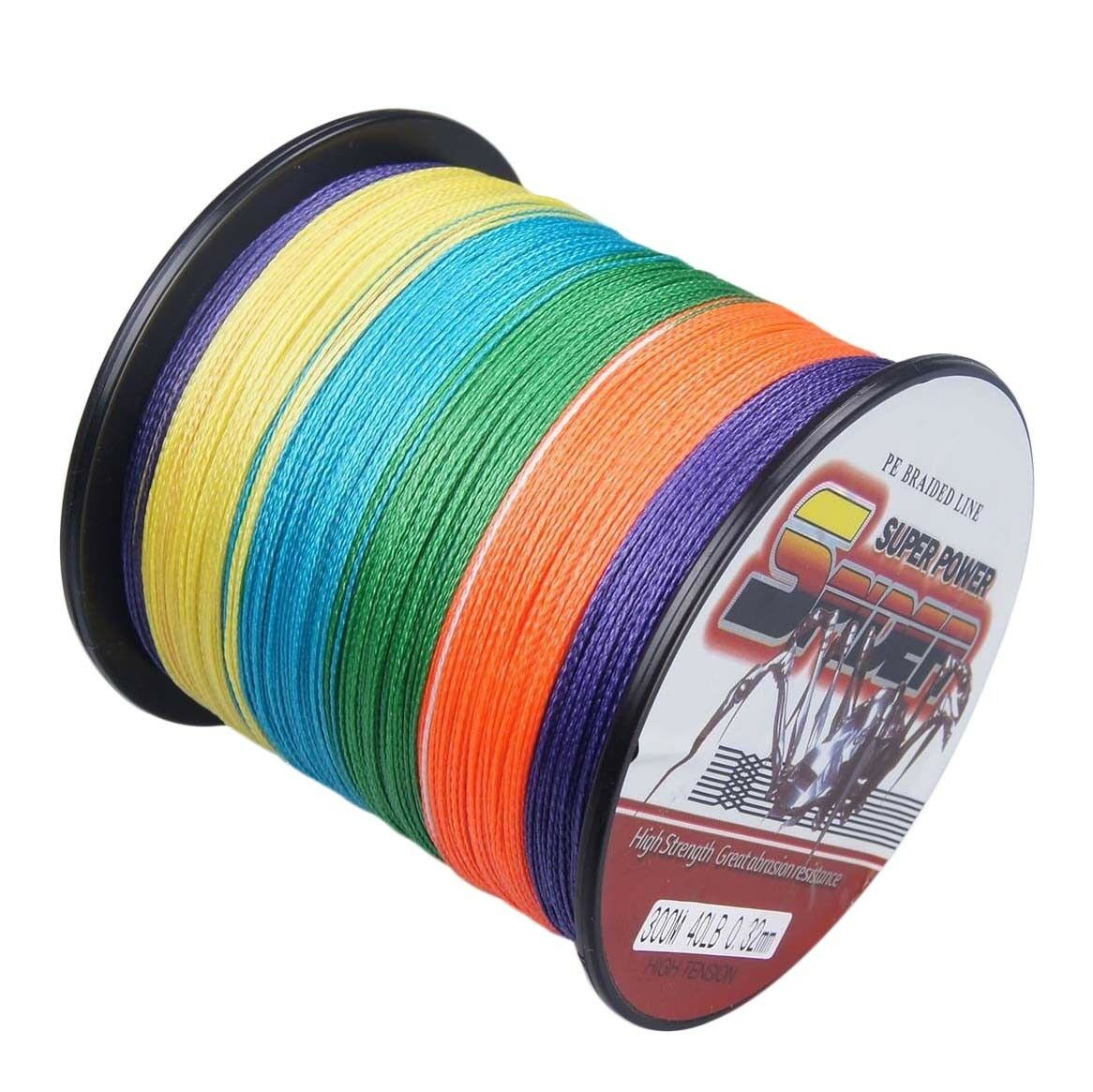 Multi Super Power Braided Fishing Line 109yds~2187yds 6LB- 300LB SPIDER