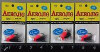 Four Aerojig Steelhead Jigs 63 Nightmare 1/8 Oz Tackle Fishing Hook Jig Hawken