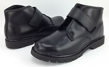 Black Leather Prison Issued Work boots Unisex Mens 12 EE Womens 13.5 EE