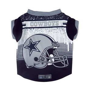 Dallas-Cowboys-Licensed-NFL-Dog-Pet-Performance-Tee-Sizes-S-XL