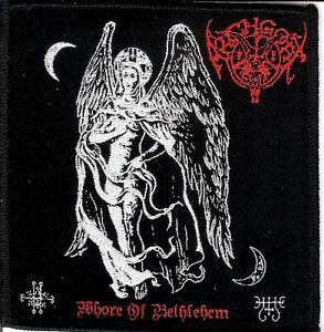 Archgoat-Whore-Patch-Impaled-Nazarene-Gasmask-Goat-Kvlt-Black-Metal-Revenge