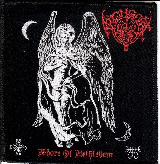 Archgoat - Whore Patch Impaled Nazarene Gasmask Goat Kvlt Black Metal Revenge