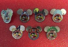 Disney's Pin Traders Pin Trading Around the World Logo Promotion set of 7