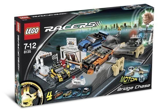 NEW Lego RACERS  8135 Bridge Chase SEALED