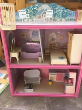 Vintage Sindy 3 Floor  House With Furniture & Accessories