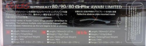 DUO Realis Spinbait 80 G-Fix Spinbait Abalone Limitierte CCC3284 SX Alse Am