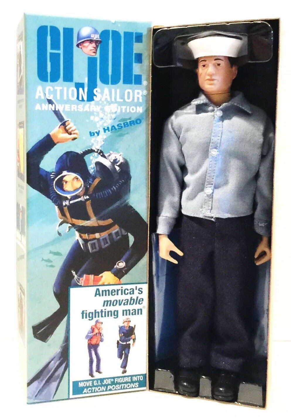 BRAND NEW GI JOE AMERICA'S ACTION SAILOR ANNIVERSARY EDITION TIMELESS MINT