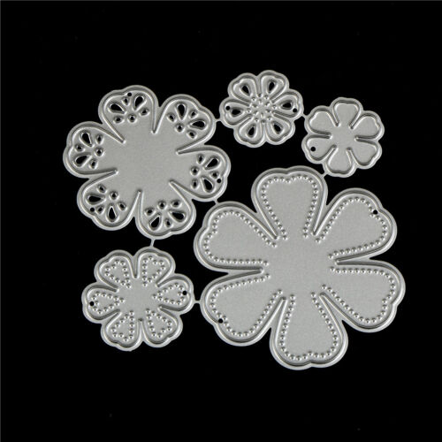 Bloosom Blumen Stanzformen Scrapbooking Foto Dekor Präge machen TPI