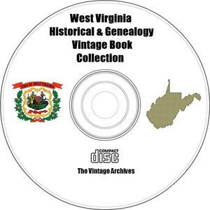 West-Virginia-Historical-amp-Genealogy-Vintage-Book-Collection-on-CD