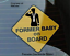 U-S-Navy-034-FORMER-BABY-ON-BOARD-034-safety-sign-5-034-x-5-034-with-Suction-cup