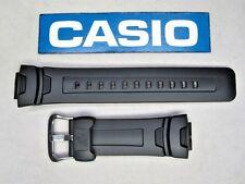 Genuine Casio G-Shock G-7500 G-7510 G-7500G black resin rubber watch band strap