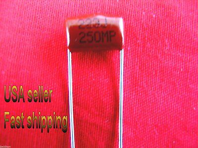 0.022uf, 22nf .022uf 12 pcs L 250v   poly film capacitors