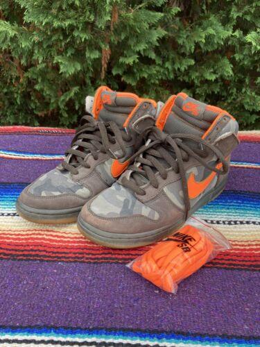 Nike Dunk SB Camo 9.5 Brian Anderson Sable Blaze