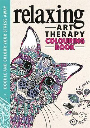 Relaxing Art Therapy An Anti Stress Colouring Book 9781782434993