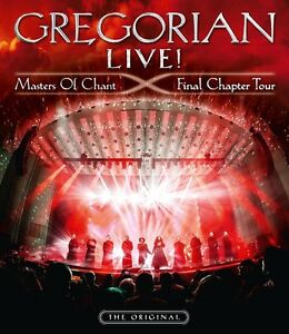 GREGORIAN-LIVE-MASTERS-OF-CHANT-FINAL-CHAPTER-TOUR-LIMITED-2-BLU-RAY-CD-NEUF